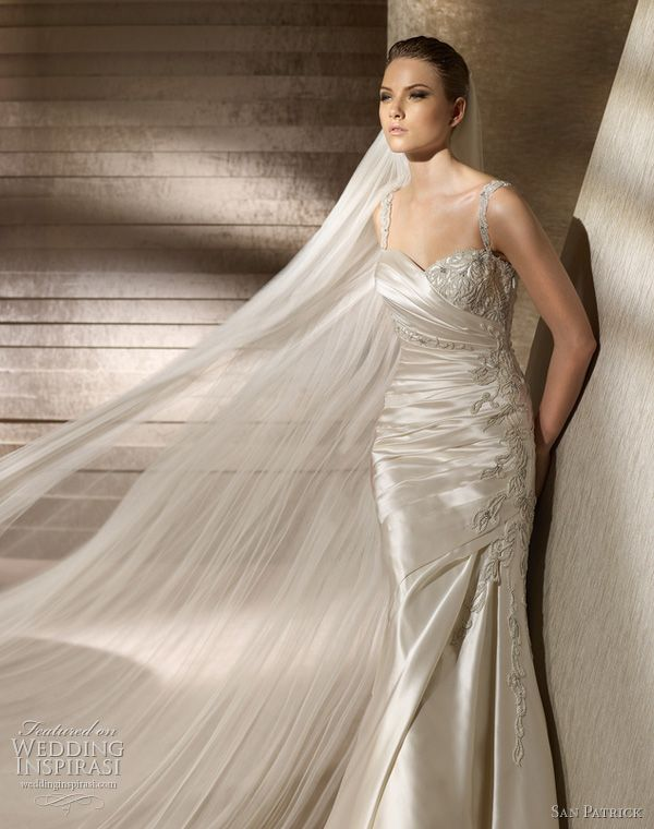 images of wedding gowns & veils | San Patrick Wedding Dresses 2012 Advance Bridal Collection