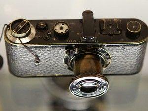 G1 - Acervo de câmeras fotográficas antigas está exposto em Juiz de Fora - notícias em Zona da Mata