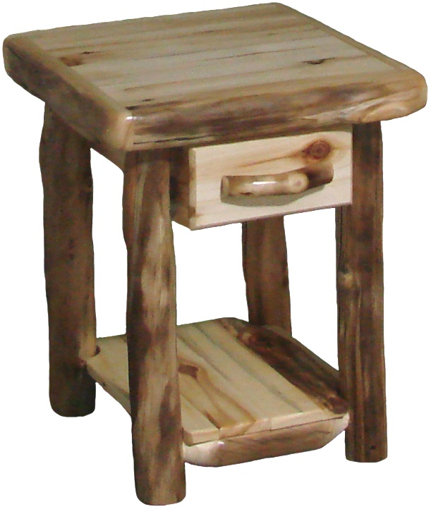 Rustic trail end tables its what we do pinterest for A p furniture trail
