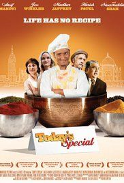 Today's Special - In this super-feel-good foodie comedy, young Manhattan chef Samir rediscovers his heritage and his passion for life through the enchanting art of cooking Indian food.