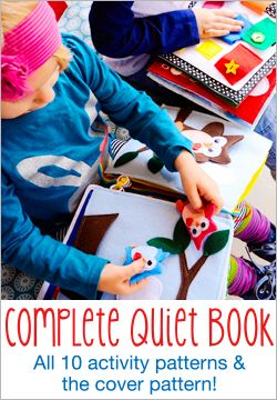 HowDoesShe Quiet Book - Patterns now AVAILABLE! | How Does She