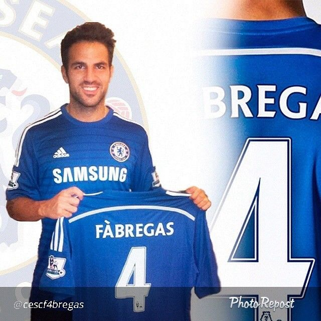 Welcome to Chelsea FC Cesc Fabregas