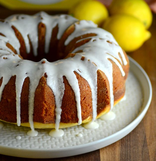 Lemon Sour Cream Bundt Cake Baking Bites Bloglovin No Bake Cake Lemon Glaze Recipe Easy Lemon Glaze Recipe