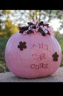 The Long Dirt Road: Pink Pumpkin Painting Party!   Pink Pumpkins for Breast Cancer Awareness Month      #breastcancerawareness