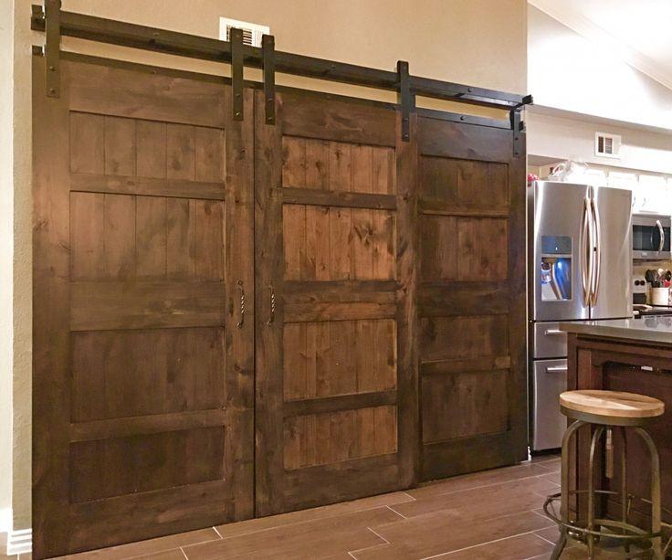 Image Result For Triple Sliding Barn Doors Bypass Barn