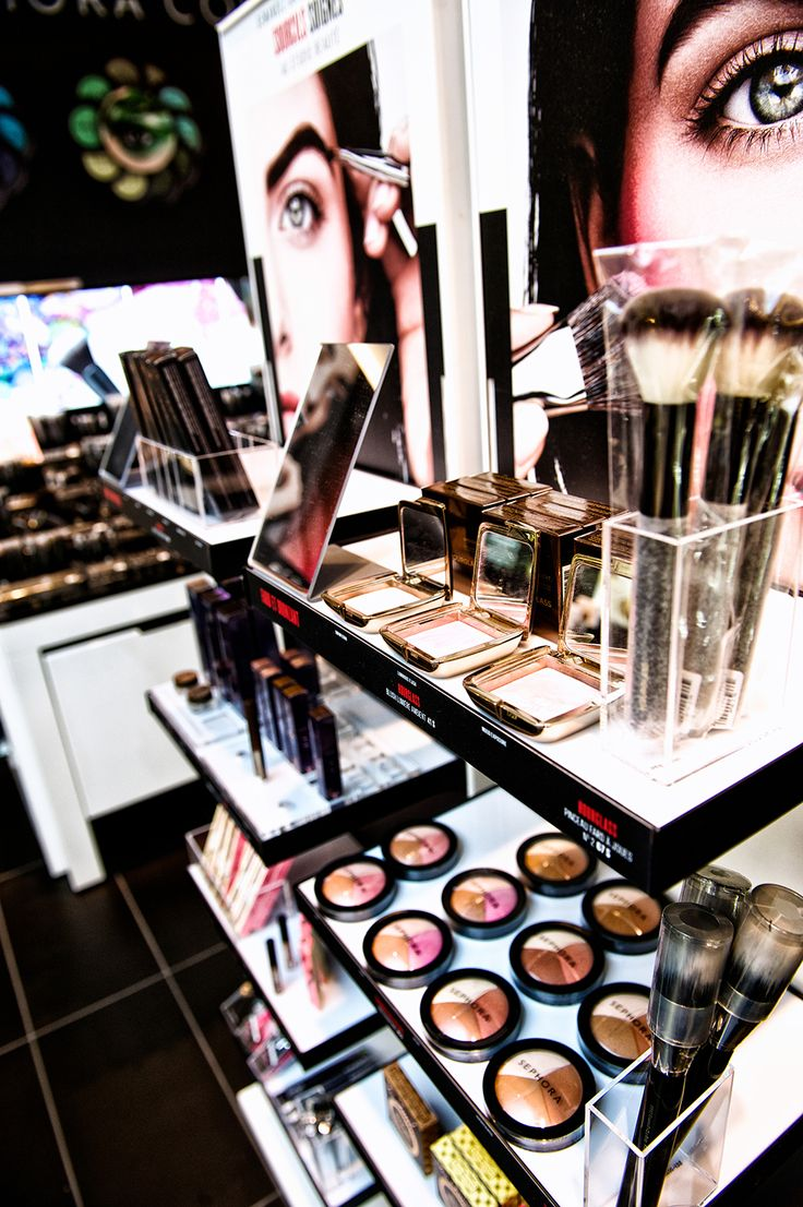 IVC has worked with Sephora to create different merchandisers for their various promotions. We specialize in cosmetic displays.