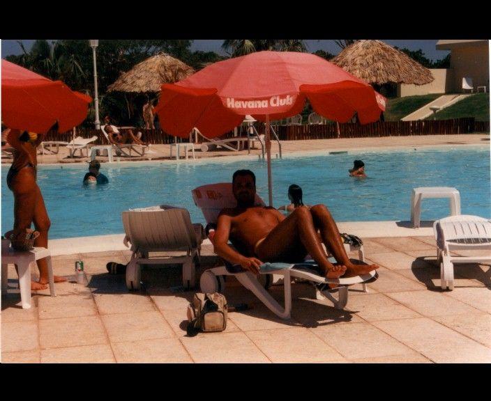 Varadero in Cuba; Hotel Tuxpan 1990