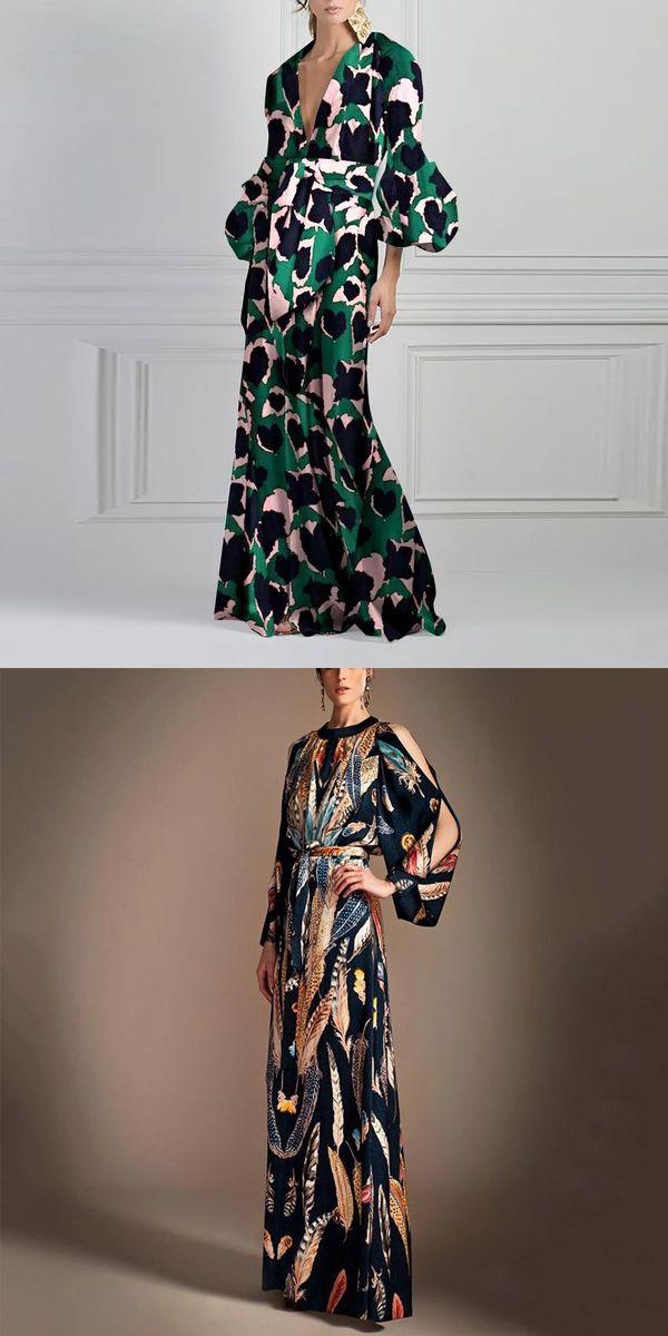 Vintage Style Elegant Maxi Dress – Style