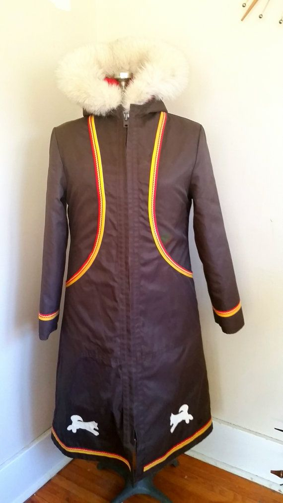 Vintage Inuit Coat Red With Shell Included by RavishingRetro