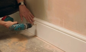 DIY video: How to fit skirting boards