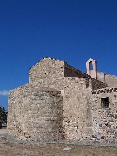 Sant Efisio church, Nora