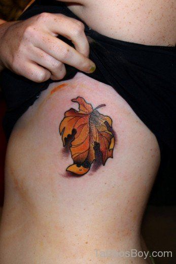 Herbstblatt Tattoo Design Blatt Tatowierungen Pinterest Autumn
