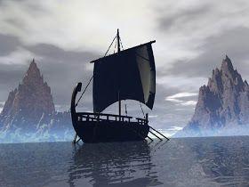 """Aunque disponían de varios tipos de embarcaciones, según estuviesen destinadas a una tarea u otra, el barco vikingo por excelencia es el drakkar. La palabra """"drakkar"""" proviene de un antiguo término islandés que significaba """"dragón""""."""