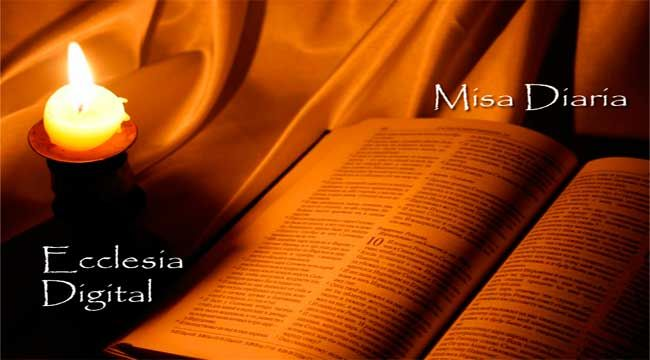 La misa diaria para el mes de Febrero en PDF.