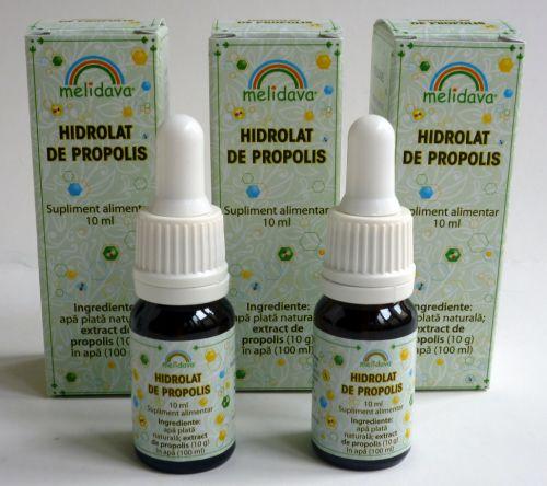 Melidava - Picaturi pentru nas - Hidrolat de propolis