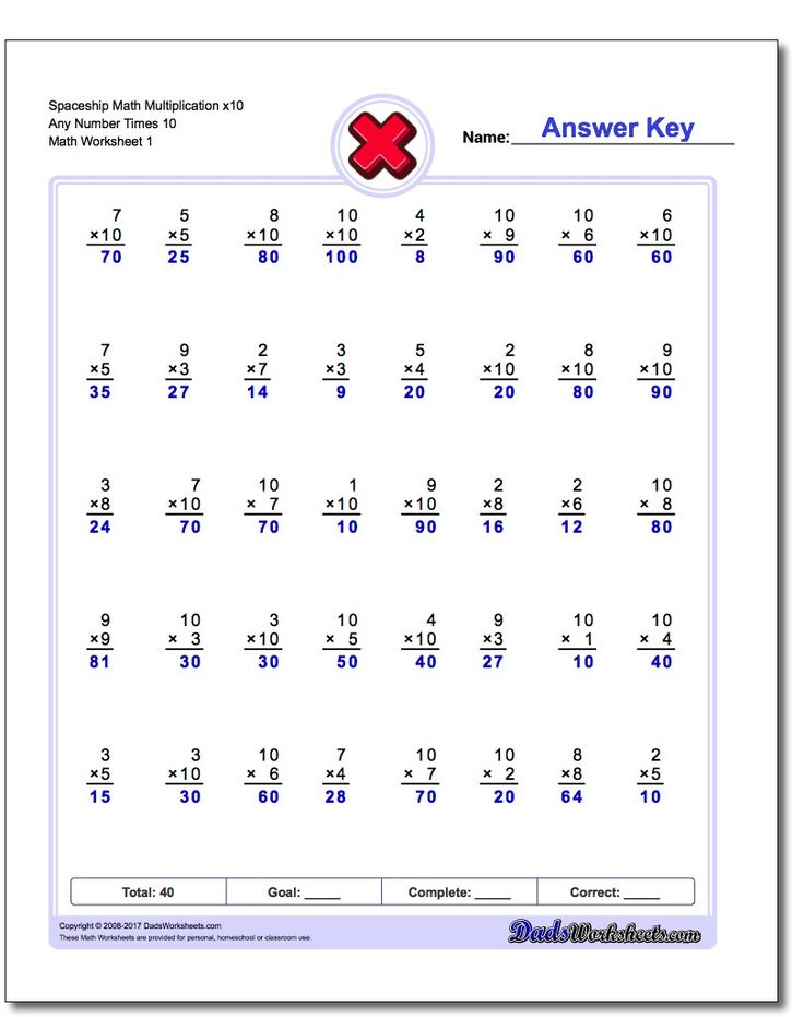 393 best Multiplication Worksheets images on Pinterest