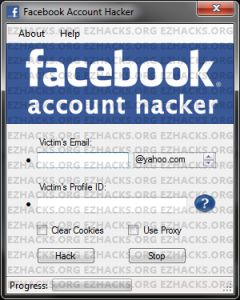 Facebook password hacker! Check it out!