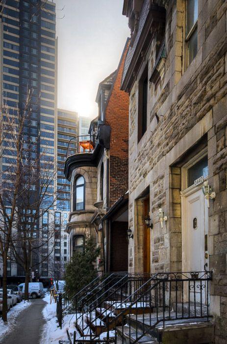 Rue Hutchison, Montréal