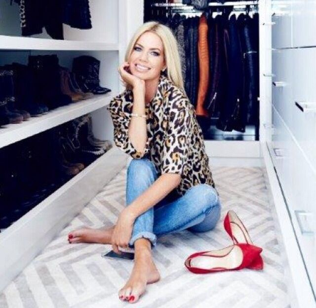 I like the leopard blouse, although it is outside my comfort zone.  It makes the outfit look more special even though it is just jeans.