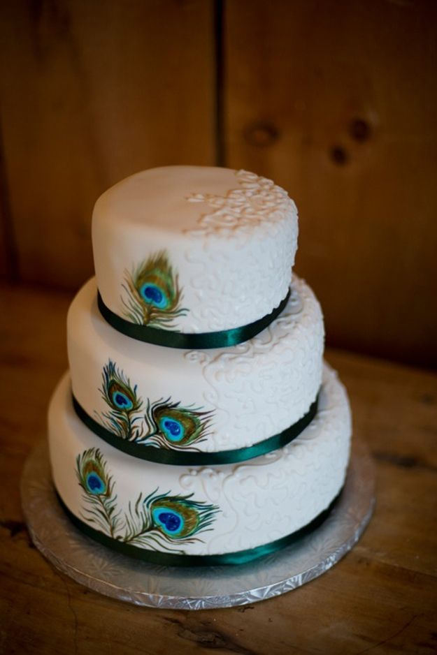 25+ best ideas about Green Small Wedding Cakes on Pinterest ...