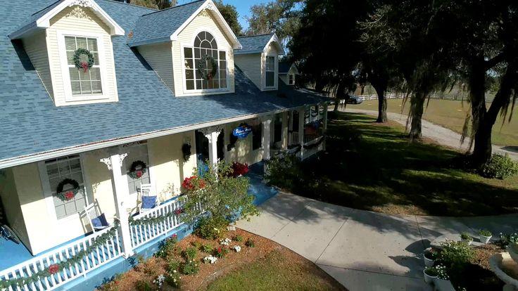 Palmer House Bed & Breakfast in Lithia, FL http://tampaaerialmedia.com/