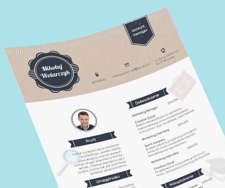 Best Creative Resume By Cvdesign Images On   Cv