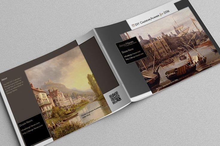 [Freebie] Printable DIY Planner and 2016 Calendar – A5 Landscape