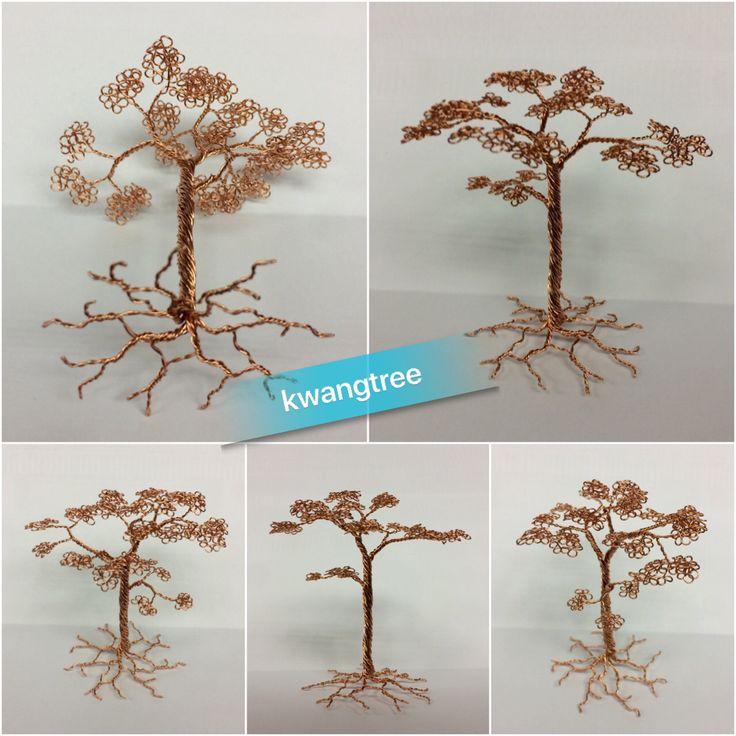 조그맣게 만든 나무... #철사공예 #와이어아트 #와이어공예 #WireArt #WireCrafts #ワイヤーアート #針金細工 #はりがねさいく #Wiretree #WireWood #树 #에나멜선 #漆包线 #EnamelWire #エナメルワイヤ