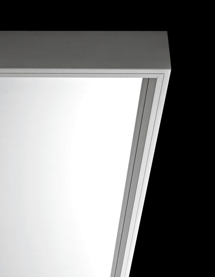   DETAILS   Wall mirror / floor / contemporary / rectangular - EXTRA LARGE by Luciano Bertoncini - Kristalia