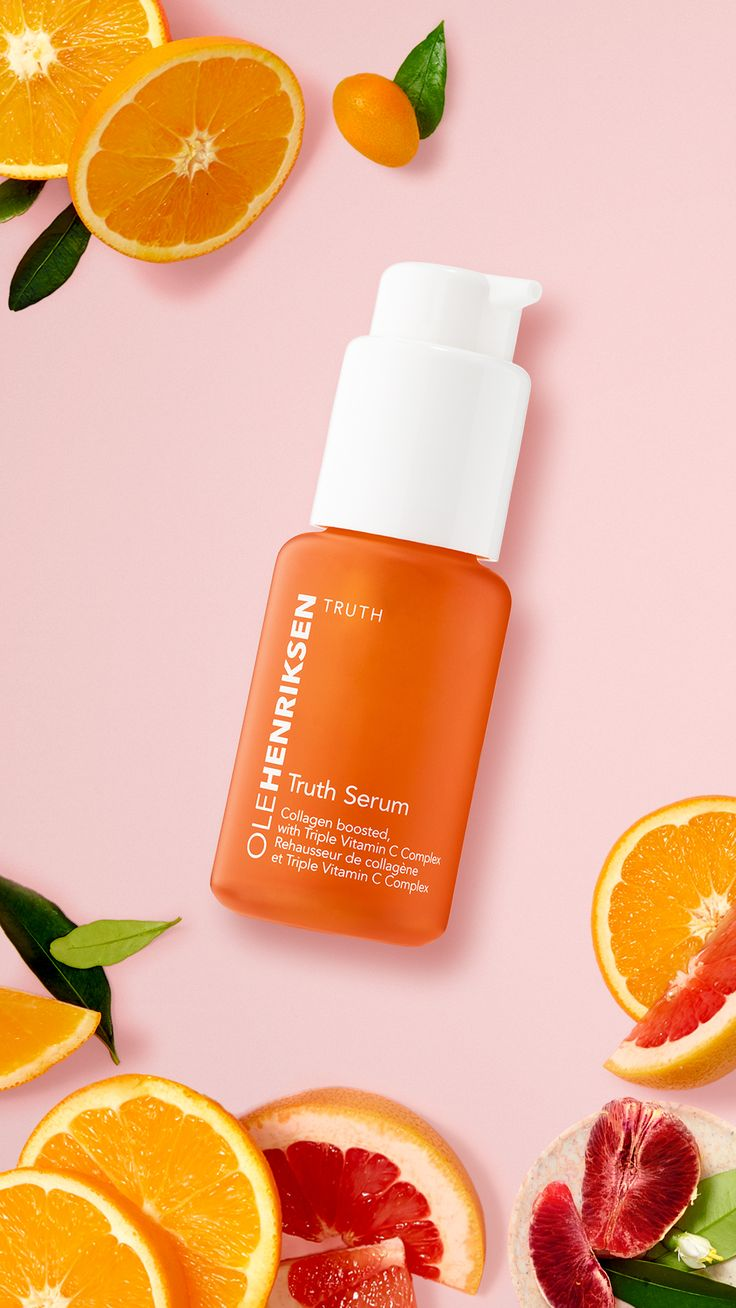 Want Vitamin C for oily skin? Try OLEHENRIKSEN Truth Serum.