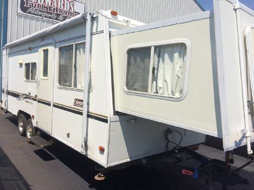Check out this 2002 Coleman Rv Coleman CARAVAN listing in Council Bluffs, IA 51501 on RVtrader.com. It is a Travel Trailer and is for sale at $4599.
