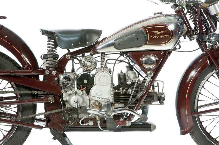 1934 Moto Guzzi GTS Motorcycle :: Sport Antiques UK