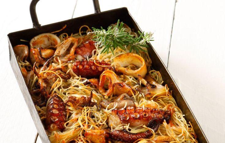 Καλαμαροχτάποδα γιουβέτσι - Συνταγές - Νηστίσιμες συνταγές   γαστρονόμος