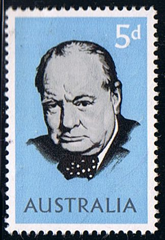 Australia 1966 Churchill Fine Mint SG 377 Scott 389 Other Australian Stamps HERE