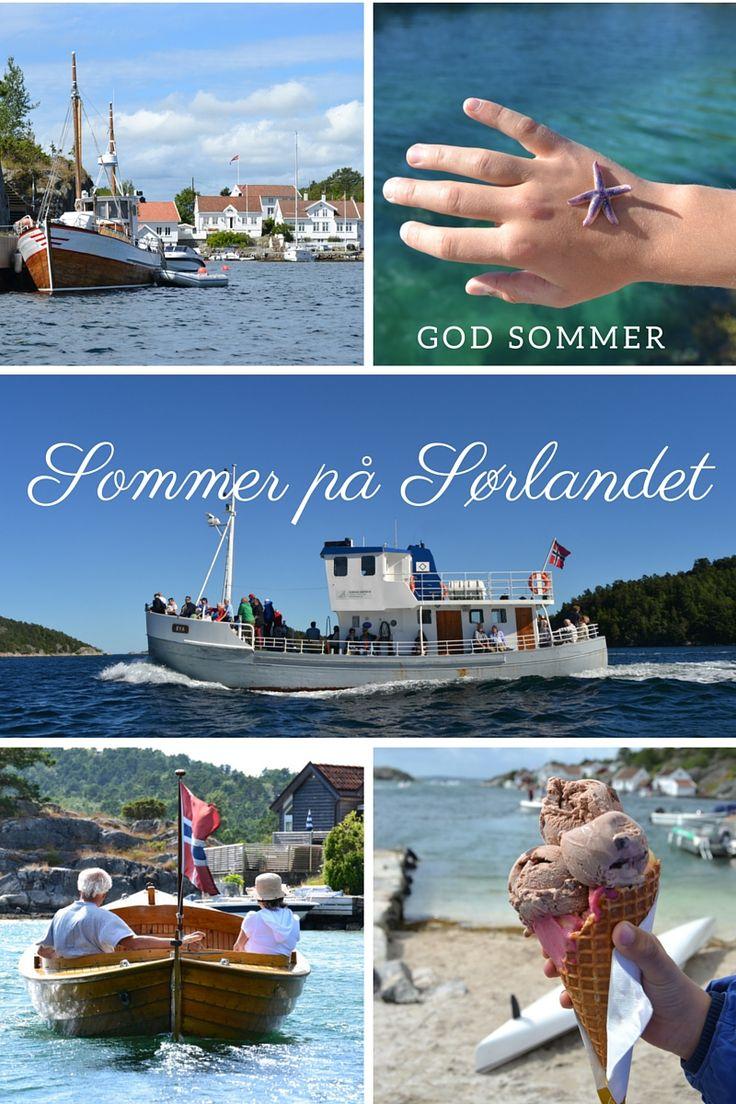 Norges vakreste båttur finner du i Blindleia mellom Lillesand og Kristiansand.   Foto: Elisabeth Høibo©Visit Sørlandet