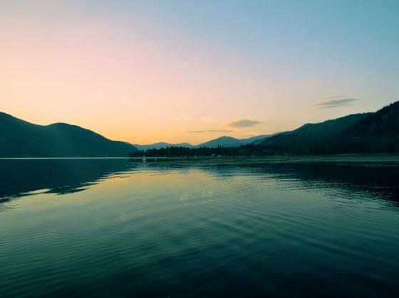 """Christina Lake @ Dusk"" (Submitted by Robert MacDonald)"