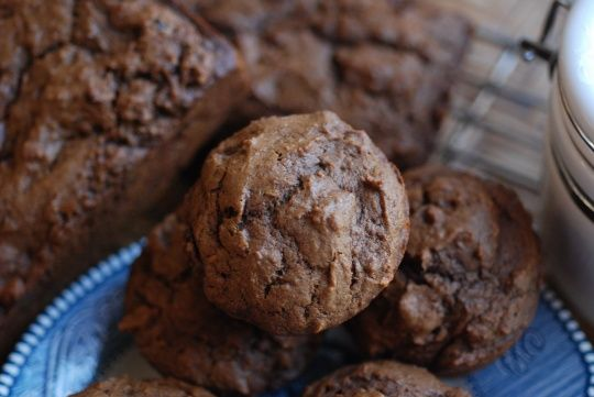 Pumpkin Gingerbread Muffins - These are delicious! Super moist and ...