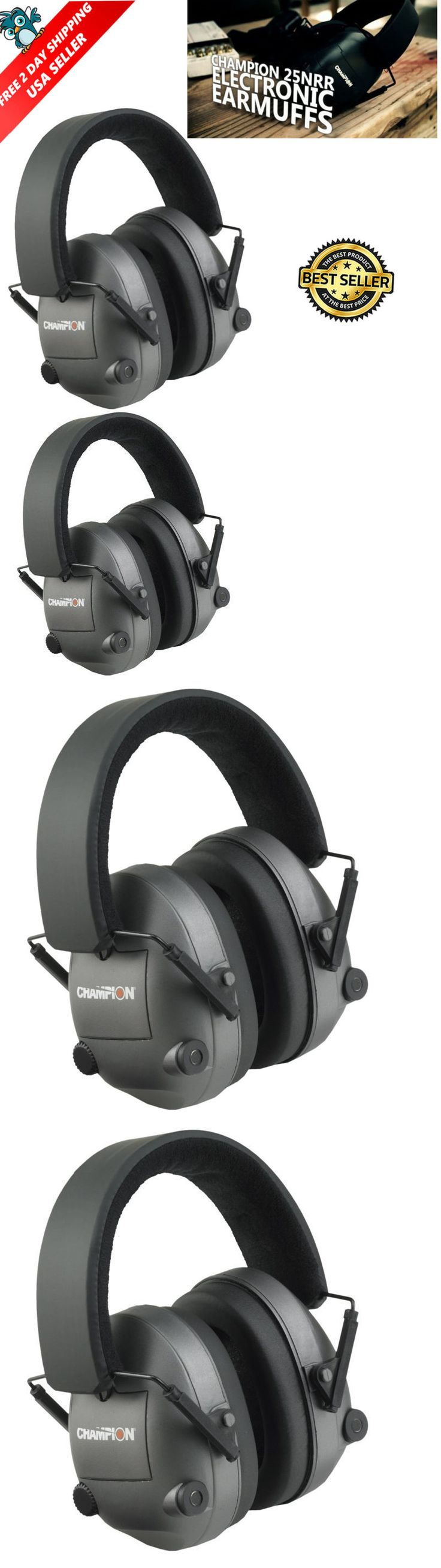 Hearing Protection 73942: Electronic Shooting Ear Protection Muffs Sport Hunt Noise Cancelling Head Gun Us -> BUY IT NOW ONLY: $34.18 on eBay!