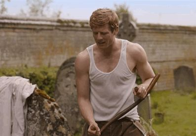 James Norton as Sidney Chambers in Grantchester. If all vicars were this hot, I'd move to England!