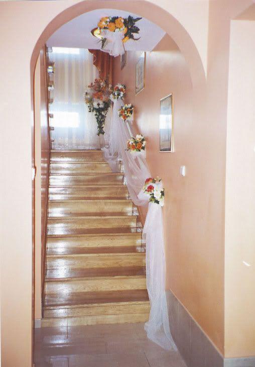 dekoracja domu panny młodej