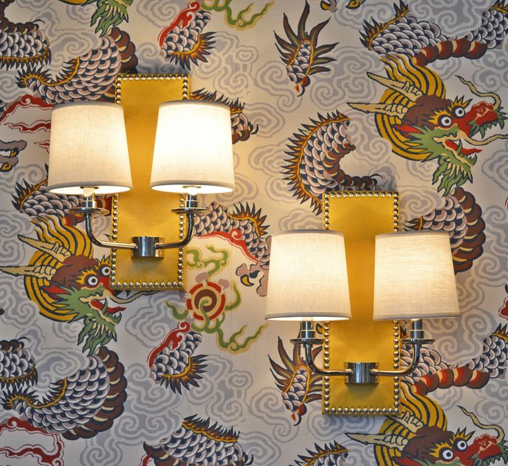 Dragon Wallpaperloves Interior Design Musings Blog