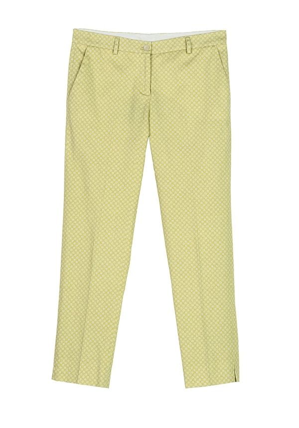 QL2 -  PENELOPE PRINTED STRETCH COTTON PANT  ( The energy is coming now) #women's #fashion