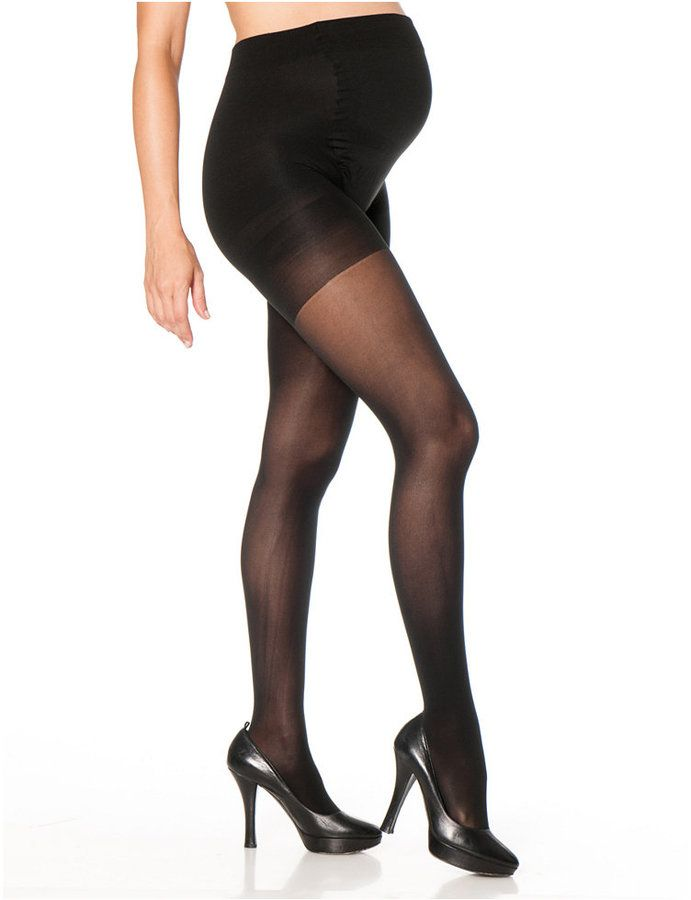 Motherhood Maternity Opaque Light-Compression Maternity Tights