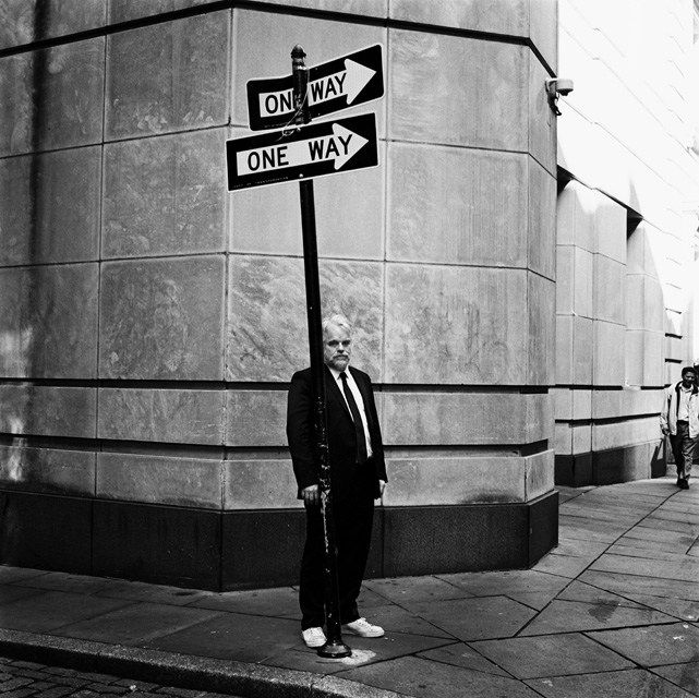 Philip Seymour Hoffman by Anton Corbijn