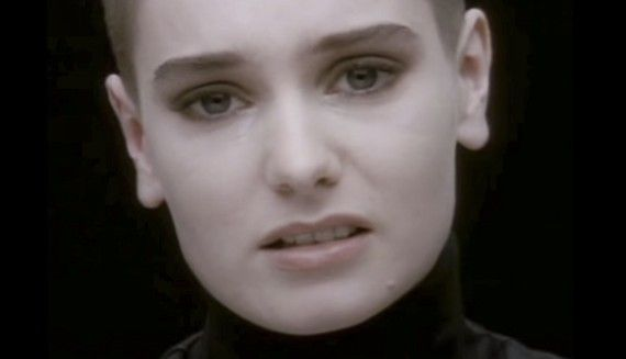 """How Sinead O'Connor's 'Nothing Compares 2 U' Endured — The Atlantic Sinead O'Connor's face comes into focus: shorn, oval-eyed, seemingly disembodied, and completely indelible.  """"It's been seven hours,"""" she sings, """"and fifteen days/ Since you took your love away."""" Beneath her vocals, there's just the sound of a single synthesized string note, before the drum track kicks in on the seventh line, just as O'Connor's voice becomes an unmistakably Gaelic wail: """"I can eat my dinner in a fancy…"""