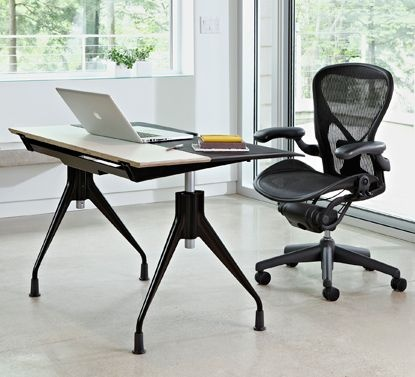 Herman Miller Envelope Desk.  Have the Aeron Chair.. Want the d desk!!!
