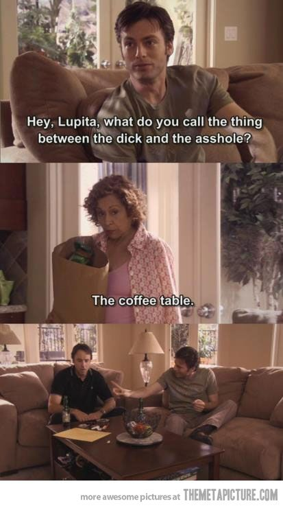 which is why I call it the coffee table. I've literally explained this to everyone I know.