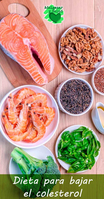 Una #dieta para bajar el #colesterol te ayuda a mantenerlo bajo control. El…