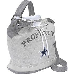 Littlearth NFL Hoodie Duffel Grey/Dallas Cowboys - Dallas Cowboys