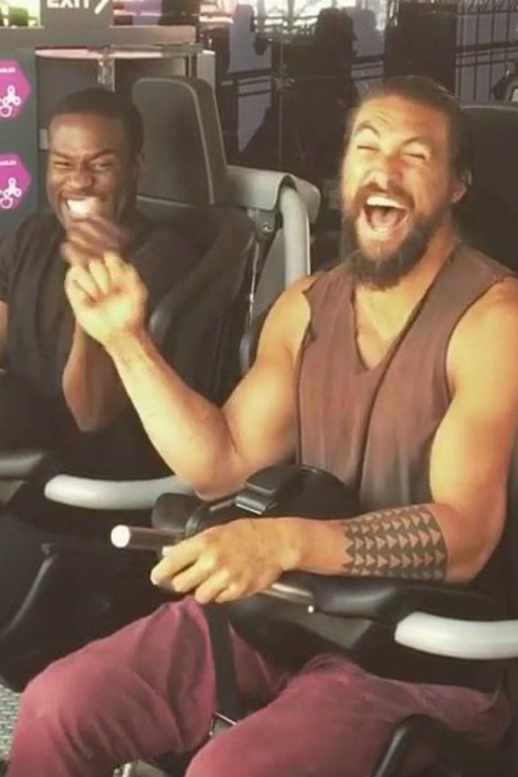 We'd Ride Any Rollercoaster If Jason Momoa and the Aquaman Cast Joined Us